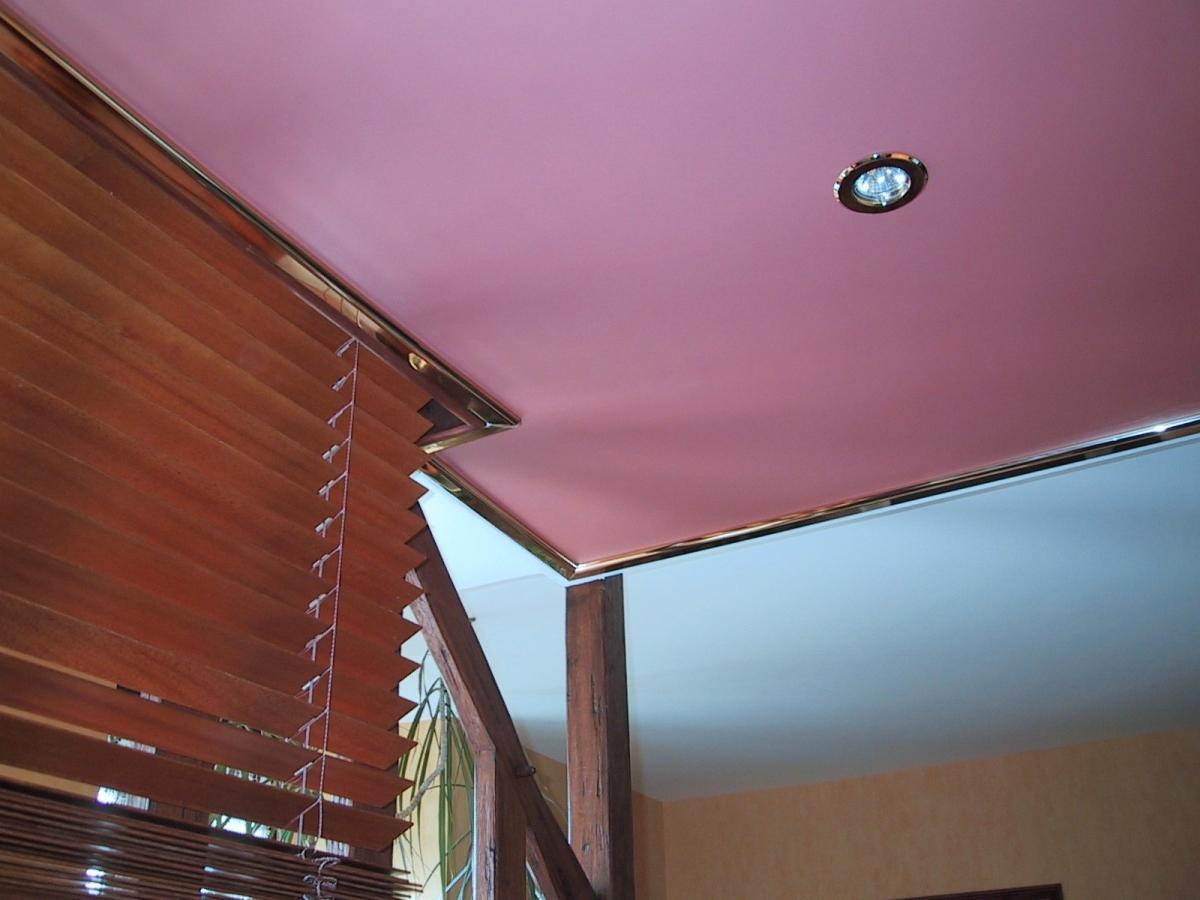 Plafond tendu toile ou pvc pour r novation dans l 39 orne 61 for Plafond toile tendu