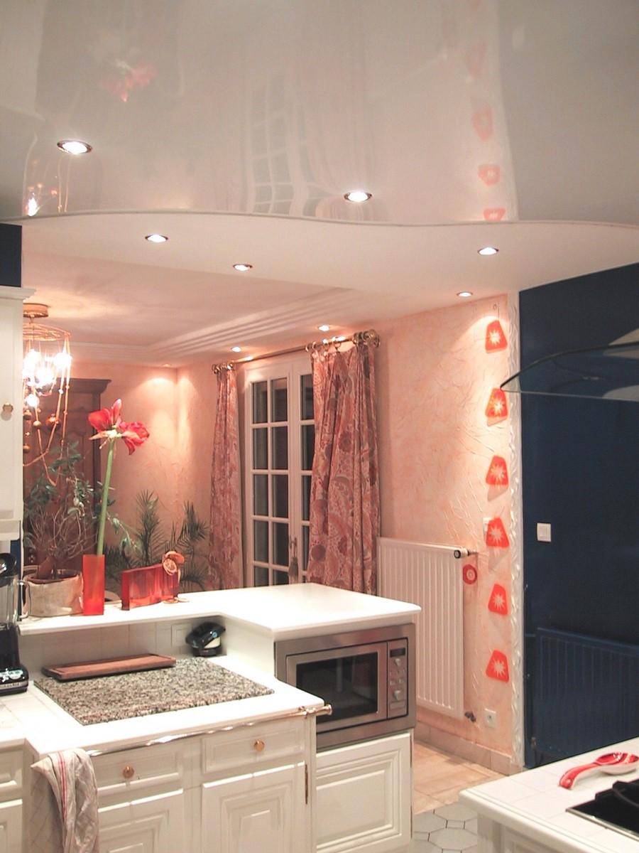 tissu tendu plafond toile tendue dcoration matriel. Black Bedroom Furniture Sets. Home Design Ideas